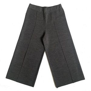 Kobi Halperin Gray Knit Wide Leg Pant